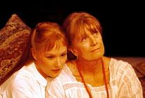 THE CHERRY ORCHARD  by Anton Chekhov  in a new version by David Lan  design: Maria Bjornson  lighting: Hugh Vanstone  director: Trevor Nunn <br>~l-r: Charlotte Emmerson (Anya), Vanessa Redgrave (Ranev...