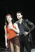 'A CHORUS LINE' (Bennett/Kirkwood/Dante/Hamlisch/Kleban - director: Nikolai Foster)~Josefina Gabrielle (Cassie), Jason Durr (Zach)~Crucible Theatre, Sheffield   England    02/12/2003