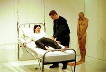 'CLEANSED' (Kane),l-r: Suzan Sylvester (Grace), Stuart McQuarrie (Tinker), Daniel Evans (Robin),Royal Court Theatre Downstairs (Duke of Yorks), London WC2  05/1998,