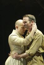 'CLOUD NINE' (Caryl Churchill - director: Anna Mackmin) l-r: Daniel Evans (Betty), Paul Ritter (Clive) Crucible Theatre / Sheffield, England    08/06/2004