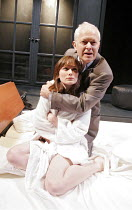 'THE COSMONAUT'S LAST MESSAGE TO THE WOMAN HE ONCE LOVED ,IN THE FORMER SOVIET UNION' (David Greig - director: Tim Supple),Anna Madeley (Nastasja), Michael Pennington (Keith),Donmar Warehouse / London...