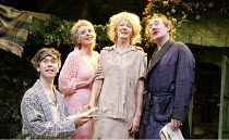 'DREAMS FROM A SUMMER HOUSE' (book & lyrics: Alan Ayckbourn   music: John Pattison) l-r: , Giles Taylor (Sinclair), Elizabeth Counsell (Chrissie), Annette McLaughlin (Amanda), Nick Lumley (Grayson)...