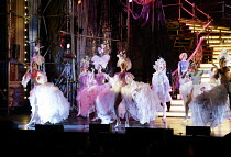 FOLLIES  music & lyrics by Stephen Sondheim  book: James Goldman  design: Paul Farnsworth  lighting: Jenny Cane  choreography: David Needham  director: Paul Kerryson <br>~ensemble~Royal Festival Hall,...
