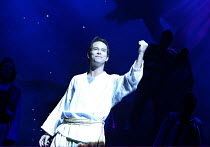 JOSEPH AND THE AMAZING TECHNICOLOR DREAMCOAT  music: Andrew Lloyd Webber   lyrics: Tim Rice <br>~Stephen Gately (Joseph)~New London Theatre, WC2                      03/03/2003