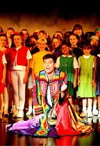 JOSEPH AND THE AMAZING TECHNICOLOR DREAMCOAT music by Andrew Lloyd Webber lyrics by Tim Rice <br>                            ~Phillip Schofield (Joseph)~Labatt's Apollo Hammersmith. London W6...