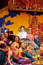 'THE KING AND I' (Rodgers & Hammerstein)~centre: Josie Lawrence (Anna Leonowens)~London Palladium  09/05/2001