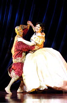 'THE KING AND I' (Rodgers & Hammerstein)~Keo Woolford (The King of Siam), Josie Lawrence (Anna Leonowens)~London Palladium  09/05/2001