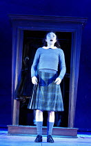THE LION, THE WITCH AND THE WARDROBE  by C.S.Lewis  dramatised by Adrian Mitchell  design: Anthony Ward  lighting: Mark Henderson  director: Adrian Noble ~Emma Fildes (Susan)~Royal Shakespeare Company...