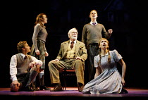 THE LION, THE WITCH AND THE WARDROBE  by C.S.Lewis  dramatised by Adrian Mitchell  design: Anthony Ward  lighting: Mark Henderson  director: Adrian Noble ~l-r: Jean-Marc Perret (Edmund), Emma Fildes (...