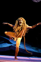 THE LION, THE WITCH AND THE WARDROBE  by C.S.Lewis  dramatised by Adrian Mitchell  design: Anthony Ward  lighting: Mark Henderson  director: Adrian Noble ~Patrice Naiambana (Aslan)~Royal Shakespeare C...