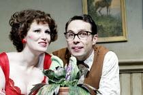 'LITTLE SHOP OF HORRORS' (Ashman/Menken)~Josie Walker (Audrey), Jeremy Finch (Seymour) with 'Audrey II'~West Yorkshire Playhouse / Leeds, England                     16/12/2002