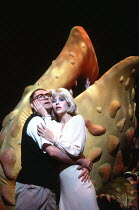 LITTLE SHOP OF HORRORS   music: Alan Menken   lyrics & direction: Howard Ashman,based on the film by Roger Corman,Barry James (Seymour), Ellen Greene (Audrey) with ^Audrey II^,Comedy Theatre / London...