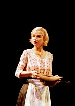 Issy van Randwyck (Petra) in A LITTLE NIGHT MUSIC at the Olivier Theatre, National Theatre (NT), London SE1  26/09/1995 ~music & lyrics: Stephen Sondheim  book: Hugh Wheeler  set design: Stephen Brims...