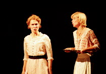 l-r: Joanna Riding (Anne Egerman), Issy van Randwyck (Petra) in A LITTLE NIGHT MUSIC at the Olivier Theatre, National Theatre (NT), London SE1  26/09/1995 ~music & lyrics: Stephen Sondheim  book: Hugh...