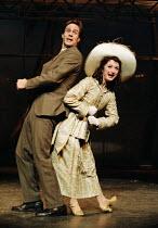 'MACK & MABEL' (Herman/Stewart) Howard McGillin (Mack), Caroline O'Connor (Mabel) Piccadilly Theatre, London W1  11/1995