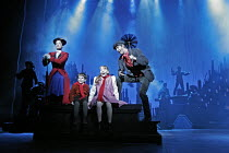 'MARY POPPINS' (based on the stories of P. L. Travers & the Walt Disney film   ,director: Richard Eyre  design: Bob Crowley    co-direction & choreography: Matthew Bourne),l-r: Laura Michelle Kelly (M...