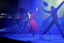 'MARY POPPINS' (based on the stories of P. L. Travers & the Walt Disney film   ,director: Richard Eyre  design: Bob Crowley    co-direction & choreography: Matthew Bourne),centre: Laura Michelle Kelly...