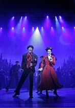 'MARY POPPINS' (based on the stories of P. L. Travers & the Walt Disney film   ,director: Richard Eyre  design: Bob Crowley    co-direction & choreography: Matthew Bourne),Gavin Lee (Bert), Laura Mich...