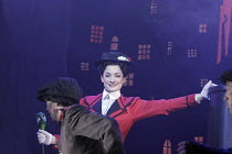 'MARY POPPINS' (based on the stories of P. L. Travers & the Walt Disney film   director: Richard Eyre  design: Bob Crowley    co-direction & choreography: Matthew Bourne),Laura Michelle Kelly (Mary Po...