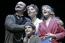 'MARY POPPINS' (based on the stories of P. L. Travers & the Walt Disney film   ,director: Richard Eyre  design: Bob Crowley    co-direction & choreography: Matthew Bourne),Banks family - l-r: David Ha...