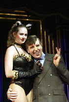 'MONEY TO BURN' (author/director: Daniel Abineri) Rachel Lynes, Peter Blake (OJ) The Venue / London WC2   09/10/2003