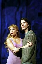 'NOTRE-DAME DE PARIS' (Plamondon/Cocciante) Natasha St-Pierre (Fleur-de-Lys), Steve Balsamo (Phoebus) Dominion Theatre, London   23 May 2000
