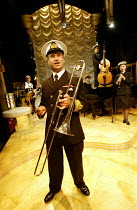 'PINAFORE SWING' (based on 'HMS Pinafore'/Gilbert & Sullivan   adapted & directed by John Doyle   musical direction: Sarah Travis) Stephen Watts (Captain) Watermill Theatre, Newbury   England...