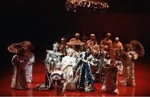 POPPY   book & lyrics: Peter Nichols   music: Monty Norman  set design: Farrah  costumes: Alexander Reid  lighting: Terry Hands & Clive Morris  choreography: Onna White   director: Terry Hands <br> ~R...