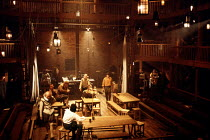 Swan Theatre/RSC, Stratford-upon-Avon~during rehearsal for 'The Fair Maid of the West'      1986