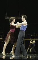 'SATURDAY NIGHT FEVER'~Kym Marsh (Annette), Stephane Anelli (Tony Manero)~Apollo Victoria, London SW1                  06/07/2004