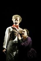 'SWEENEY TODD' (Sondheim)~Steven Page (Sweeney Todd), Beverley Klein (Mrs Lovett)~Opera North/Leeds               25/04/2002
