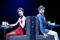 'SWEET CHARITY' (Simon/Coleman/Fields)~Anna-Jane Casey (Charity Hope Valentine), John Marquez (Oscar Lindquist)~Crucible Theatre / Sheffield, England     17/12/2002