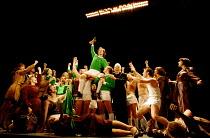THE BEAUTIFUL GAME music: Andrew Lloyd Webber book & lyrics: Ben Elton set design: Michael Levine costumes: Joan Bergin lighting: Jean Kalman choreography: Meryl Tankard  director: Robert Carsen  ~cen...
