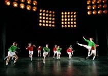 THE BEAUTIFUL GAME music: Andrew Lloyd Webber book & lyrics: Ben Elton set design: Michael Levine costumes: Joan Bergin lighting: Jean Kalman choreography: Meryl Tankard  director: Robert Carsen  ~(ri...