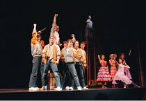 WEST SIDE STORY  music: Leonard Bernstein  book: Arthur Laurents  lyrics: Stephen Sondheim  original direction & choreography: Jerome Robbins   direction & choreography reproduced by Alan Johnson <br>...