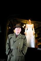 'AN INSPECTOR CALLS' (JB Priestley)~Niall Buggy (Inspector Goole), Emma Gregory (Sheila Birling)~Playhouse Theatre, London WC2       27/09/2001