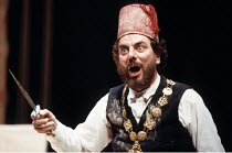 'THE JEW OF MALTA' (Marlowe - director: Barry Kyle),Alun Armstrong (Barabas),Royal Shakespeare Company / Barbican Theatre, London EC2                       23/03/1988                  ,