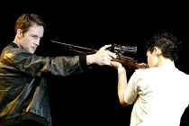 'THE LIEUTENANT OF INISHMORE' (McDonagh)~Peter McDonald (Padraig), Elaine Cassidy (Mairead)~Garrick Theatre, London WC2                26/06/2002