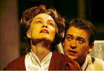 LONG DAY'S JOURNEY INTO NIGHT by Eugene O'Neill director: Robin Phillips  ~Jessica Lange (Mary Tyrone), Paul Nicholls (Edmund)~Lyric Theatre, London W1 21/11/2000~(c) Donald Cooper/Photostage   photos...