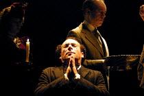 MAHLER'S CONVERSION  by Ronald Harwood  design: Stephen Brimson-Lewis  lighting: Tim Mitchell  director: Gregory Doran <br>~Mahler's Baptism: Antony Sher (Gustav Mahler)~Aldwych Theatre, London WC2...