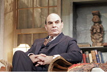 MAN AND BOY by Terence Rattigan - director: Maria Aitken ~David Suchet (Gregor Antonescu),Duchess Theatre, London WC2              07/02/2005        ,