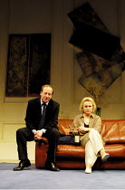 'MARRIAGE PLAY' (Albee),Bill Paterson (Jack), Sheila Gish (Gillian),Royal National Theatre/Cottesloe Theatre, London SE1  08/05/2001,