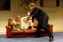 'MARRIAGE PLAY' (Albee),Sheila Gish (Gillian), Bill Paterson (Jack),Royal National Theatre/Cottesloe Theatre, London SE1  08/05/2001,