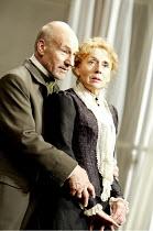 'THE MASTER BUILDER' (Ibsen - director: Anthony Page)~Patrick Stewart (Halvard Solness), Sue Johnston (Aline Solness)~Albery Theatre, London WC2                  18/06/2003