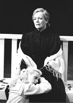 'THE MASTER BUILDER' (Ibsen)~Joanne Pearce (Hilde Wangel), (top) Marjorie Yates (Aline Solness)~Royal Shakespeare Company/Barbican Theatre      1989