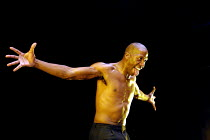 'MESSIAH - Scenes from a Crucifixion' (Berkoff)~Cornell John (Satan)~Riverside Studios, London W6                 03/10/2001
