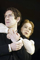 'MOURNING BECOMES ELECTRA' (O'Neill - director: Howard Davies)~Paul McGann (Captain Adam Brant), Helen Mirren (Christine Mannon)~Lyttelton Theatre / National Theatre, London SE1         27/11/2003