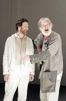 'KING LEAR' (Shakespeare - director: Steven Pimlott),IV/v - l-r: Jo Stone-Fewings (Edgar), David Warner (King Lear),Minerva Theatre / Chichester Festival Theatre / West Sussex, England          17/05/...