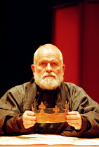 KING LEAR  by Shakespeare  design: Bob Crowley  lighting: Jean Kalman  director: Richard Eyre <br> ~Ian Holm (King Lear) ~Cottesloe Theatre, National Theatre (NT), London SE1   27/03/1997~(c) Donald C...