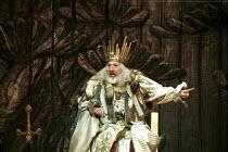 KING LEAR  by Shakespeare  set design: Yukio Horio  costumes: Lily Komine  lighting: Tamotsu Harada  fights: Masahiro Kunii  movement: Suketaro Hanayagi  director: Yukio Ninagawa <br>~division of the...